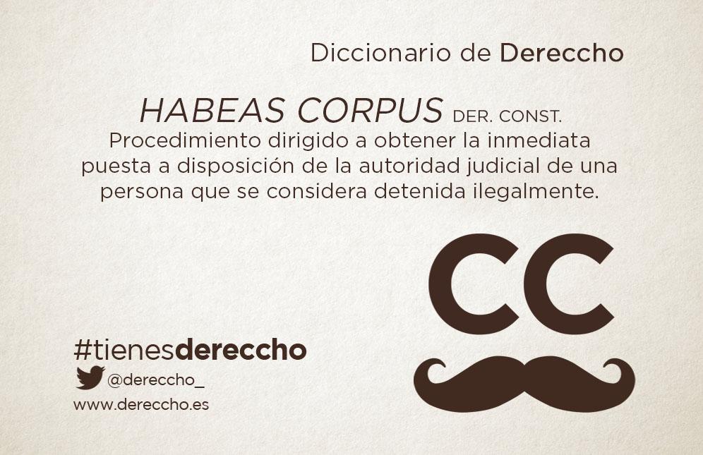Habeas Corpus - Dereccho Abogados
